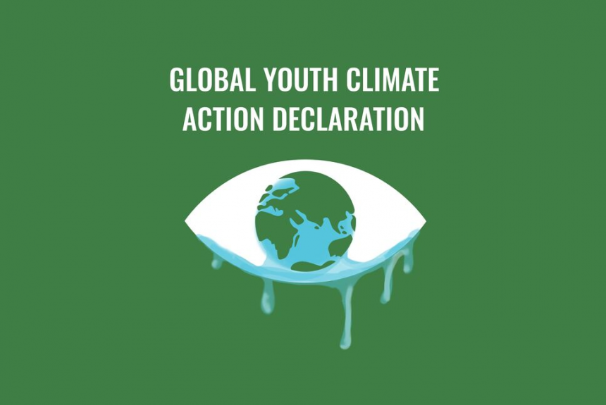 Presseaussendung: Global Youth Climate Action Declaration