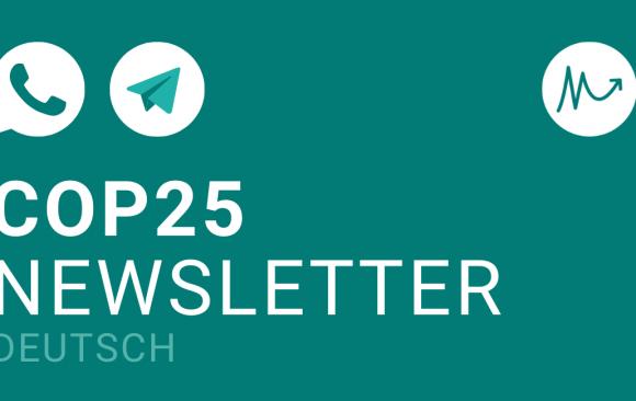 COP25 Newsletter DE –alles zusammengefasst!