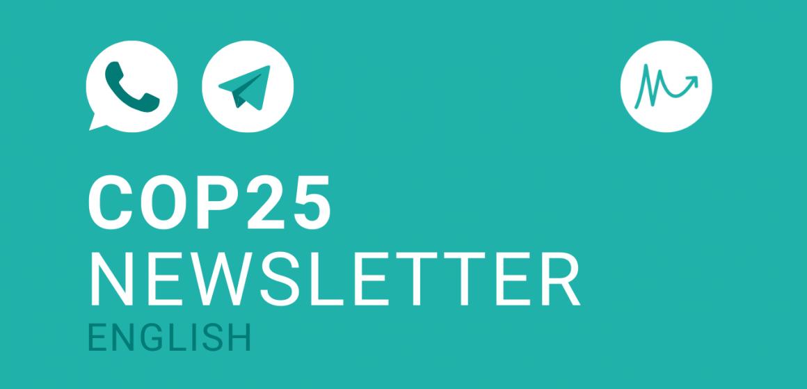 COP25 Newsletter EN –summarized!