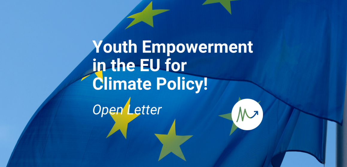 Open Letter: Youth Empowerment in the EU for Climate Policy!