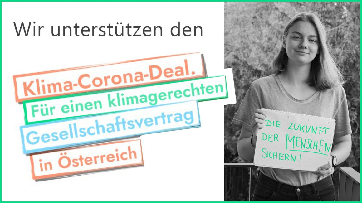 Klima-Corona-Deal: Einfluss nehmen auf die Klimapolitik