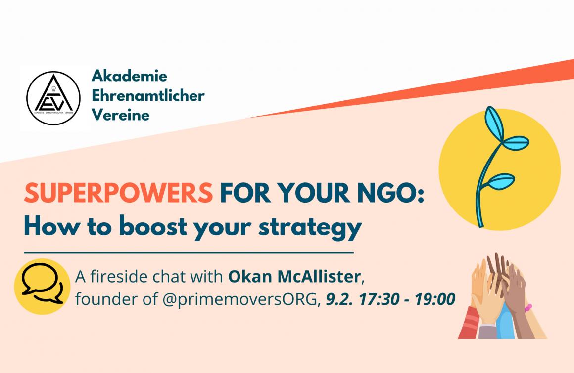Akademie Ehrenamtlicher Vereine: Superpowers for your NGO
