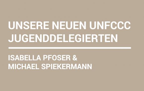 Österreich hat neue UNFCCC-Jugenddelegierte!